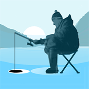 Winter Fishing 3D иконка
