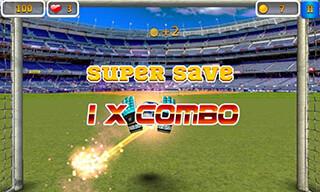 Super Goalkeeper: Soccer Game скриншот 1