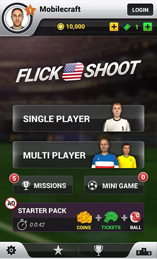 Flick Shoot US: Multiplayer скриншот 3