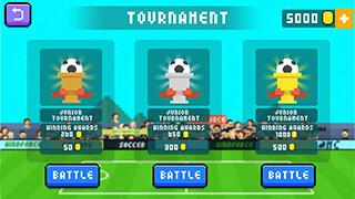Holy Shoot: Soccer Battle скриншот 3