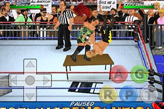 Wrestling Revolution скриншот 2