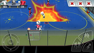 Patrick Kane's Arcade Hockey скриншот 2