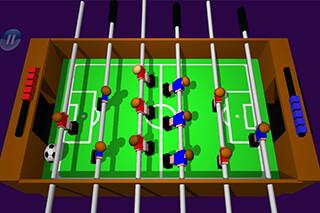 Table Football, Soccer 3D скриншот 1