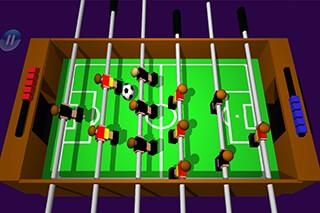 Table Football, Soccer 3D скриншот 2