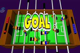Table Football, Soccer 3D скриншот 3