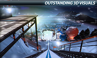Super Ski Jump: Winter Rush скриншот 3