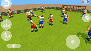 Goofball Goals Soccer Game 3D скриншот 1