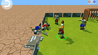Goofball Goals Soccer Game 3D скриншот 3