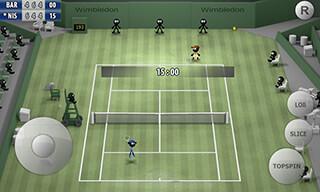 Stickman: Tennis 2015 скриншот 1