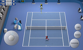 Stickman: Tennis 2015 скриншот 2