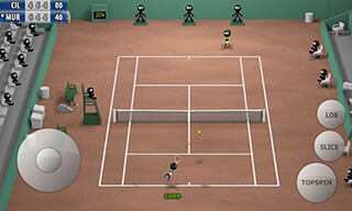 Stickman: Tennis 2015 скриншот 3