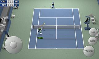 Stickman: Tennis 2015 скриншот 4