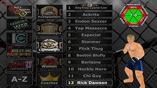 Weekend Warriors MMA скриншот 2