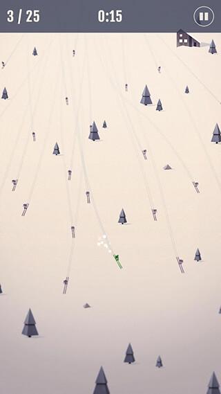 Ski Race Club скриншот 1