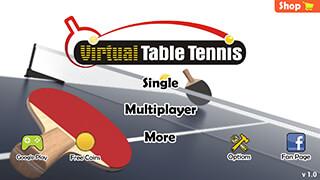 Virtual Table Tennis скриншот 2