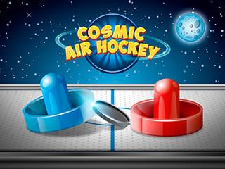 Cosmic Air Hockey скриншот 1