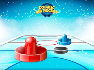 Cosmic Air Hockey скриншот 3