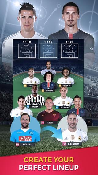 Fantasy Manager Football 2016 скриншот 1