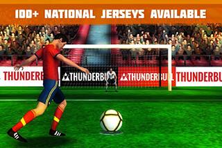 Penalty Kick: Soccer Football скриншот 1