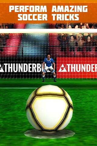 Penalty Kick: Soccer Football скриншот 2
