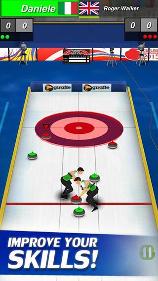 Curling 3D скриншот 2
