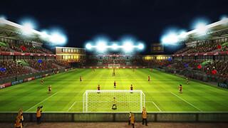 Striker Soccer Euro 2012 скриншот 1