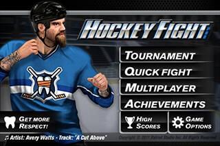 Hockey Fight Lite скриншот 2