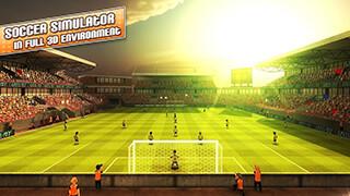 Striker Soccer London скриншот 1