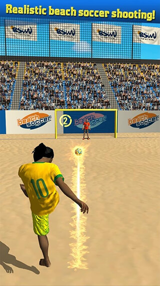 Beach Soccer Shootout скриншот 1