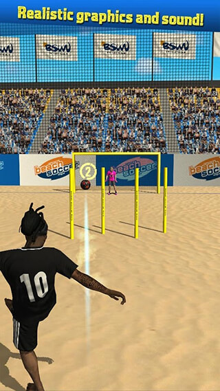 Beach Soccer Shootout скриншот 2