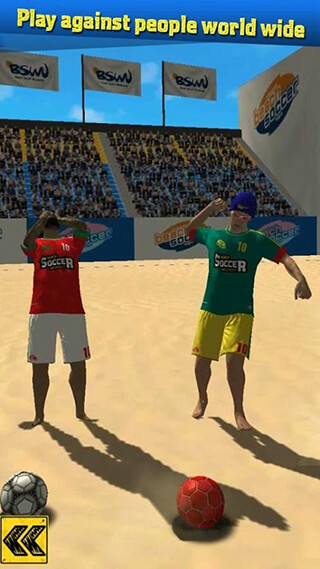Beach Soccer Shootout скриншот 4