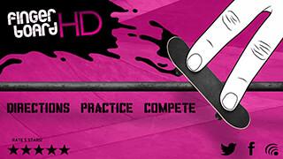 Fingerboard HD Skateboarding скриншот 1