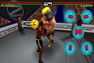 Virtual Boxing 3D Game Fight скриншот 2
