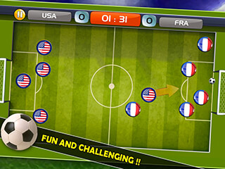 Finger Soccer Games скриншот 2