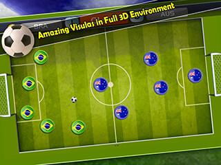 Finger Soccer Games скриншот 3