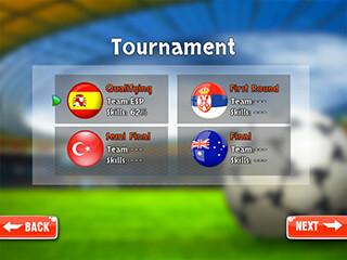 Finger Soccer Games скриншот 4