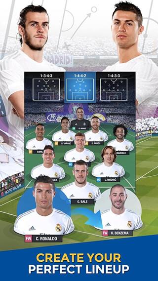 Real Madrid: Fantasy Manager'16 скриншот 1