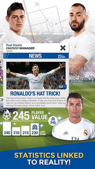 Real Madrid: Fantasy Manager'16 скриншот 3