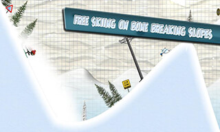 Stickman: Ski Racer скриншот 2