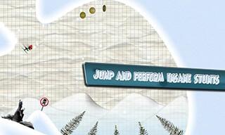 Stickman: Ski Racer скриншот 3