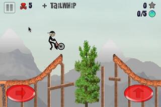 Stickman BMX скриншот 1