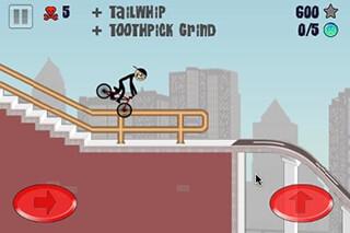 Stickman BMX скриншот 3