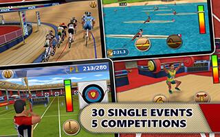 Athletics: Summer Sports Free скриншот 2