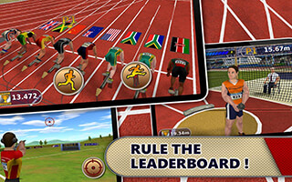 Athletics: Summer Sports Free скриншот 4
