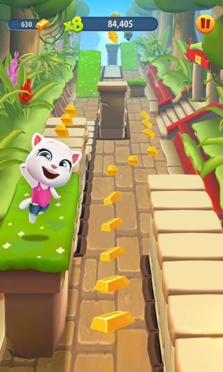 Talking Tom: Gold Run скриншот 2