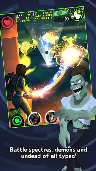 Ghostbusters: Slime City скриншот 3