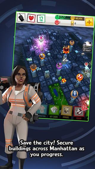 Ghostbusters: Slime City скриншот 4