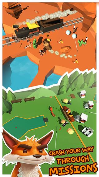 Crashing Season: Action Runner скриншот 2