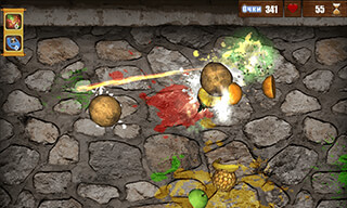 Splash Fruits: Ninja Story 3D скриншот 2