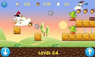 Ninja Chicken скриншот 2